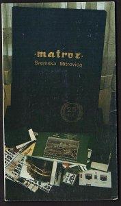 QSL QSO RADIO CARD YU7RU,Toma Kelava, Sremska,Mitrovica Yugoslavia  (Q2567)