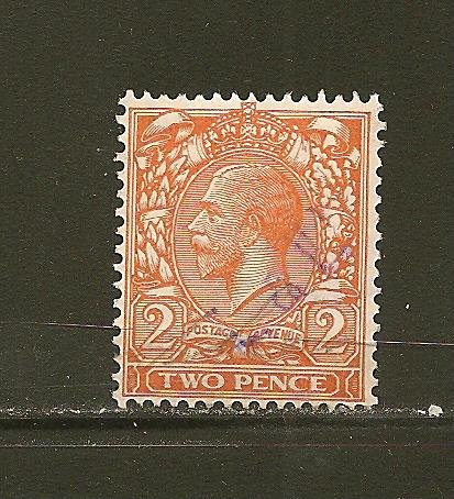 Great Britain 162 King George V Used