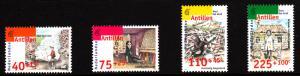 Netherlands Antilles MNH Scott #B313-#B316 Set of 4 UNICEF 50th anniversary