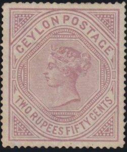 Ceylon 1879 SC 82 MLH