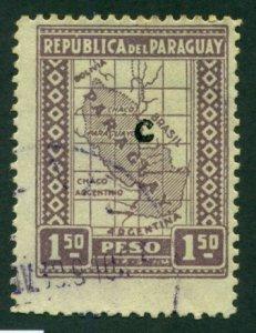 Paraguay 1928 #L24 U SCV (2018) = $0.50