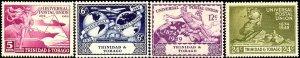 UPU, Universal Postal Union 75th Anniv, Trinidad & Tobago SC#66-69 MNH set