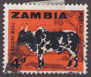 Zambia 8 USED 1964 Angoni Bull