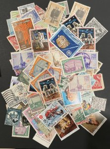 Middle East - Multiple Countries - Approximately 125 Stamps