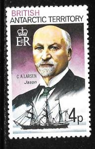 B.A.T. 51: 4p Carl Anton Larsen (1860-1924), MH, VF