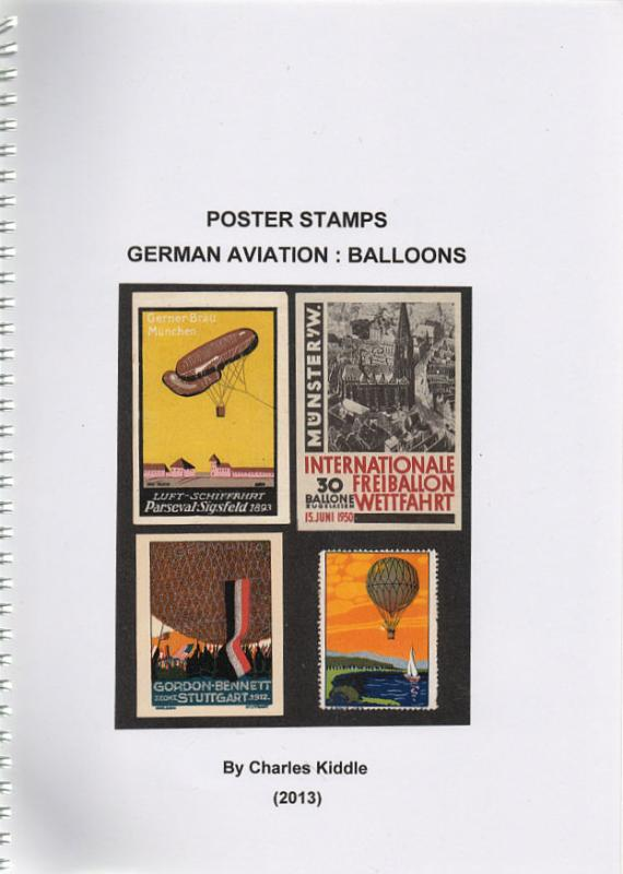 (I.B-CK) Cinderella Catalogue : Poster Stamps : German Aviation (Balloons)