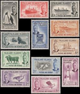 Falkland Islands 107//120 mnh
