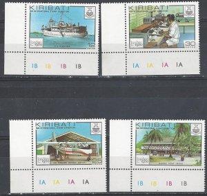 Kiribati 352-5  MNH   London 1980