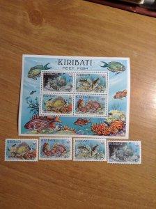 Kiribati  # 452-55A  MNH