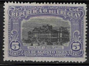 Uruguay Scott 303 MH* stamp