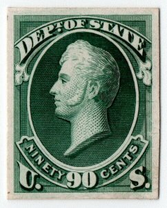 (I.B) US Postal Service : Department of State 90c (proof)