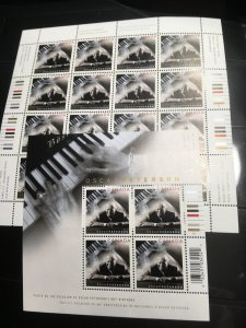 Canada 2005-2013 Mint VF-NH Musicians Collection of 36 Stamps & 5 Souv. Sheets