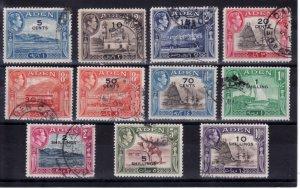 Aden #36-46 Used, CV $35.15   .....  0020035