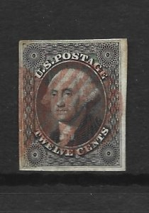 United States Scott #17 12-cent Washington VF used 2016 cv $250