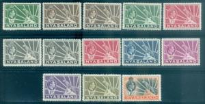 Nyasaland Protectorate #54-62 Part Set  Mint  Scott $22.20