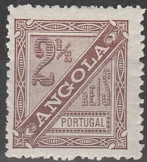Angola #P1 F-VF  Unused CV $3.50 (A16820)