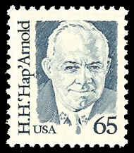 PCBstamps    US #2191 65c Gen. HapH. Arnold, 1988, MNH, (4)