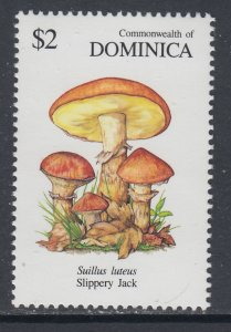 Dominica 1323 Mushrooms MNH VF
