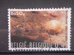 BELGIUM, 2003, used 49c, Minerals. Scott 1960 11c