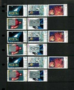 Germany B855-859 Space Images. Cat.90.90 (10.10 x 9)