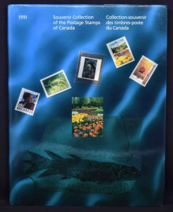 CANADA 1991 Souvenir Stamp Collection, USA delivery only.