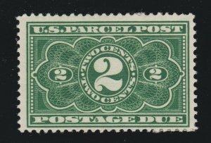 US JQ2 2c Postage Due Mint F-VF OG H SCV $60