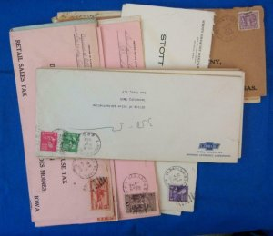 38 Railroad Post Office (RPO) Covers Fm 1899-1967's, #10 Envelope (S17326)