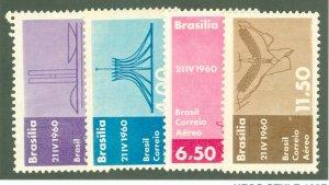 BRAZIL C95-98 MNH BIN $1.15