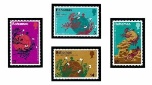 Bahamas 358-61 MNH 1974 UPU