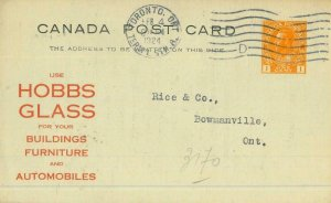93156 - CANADA - Postal History - Advertising STATIONERY CARD Architecture CARS