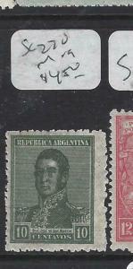 ARGENTINA (P1204B) 10 C  SC 270   MOG
