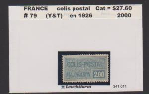 FRANCE #79 STAMP USED LOT#F30