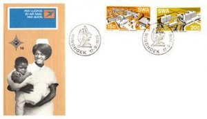 South West Africa, Worldwide First Day Cover, Medical