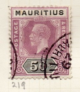 Mauritius 1921-34 Early Issue Fine Used 50c. NW-90921