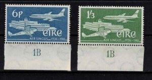 Ireland - Sc177-178 Irish intnl airlines mint - CV $6.75
