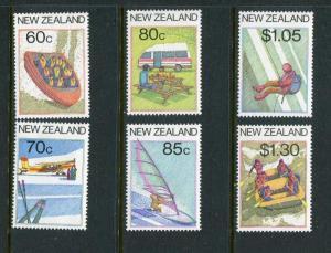 New Zealand #861-6 MNH