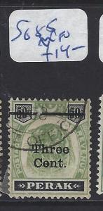MALAYA PERAK (P1409B)  3C/50C   TIGER SG  85    VFU