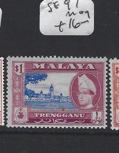 MALAYA  TRENGGANU   (PP1605B)  SULTAN  $1.00   SG 97   MOG