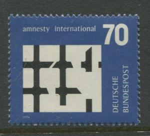 Germany -Scott 1150 - General Issue.-1974 - MNH -Single 70pf Stamp