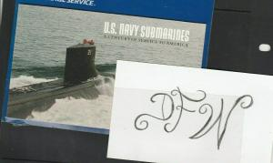 USA #Stamps sc# 3372-77 ~ 3377a US Navy Submarines Booklet MNH NEW