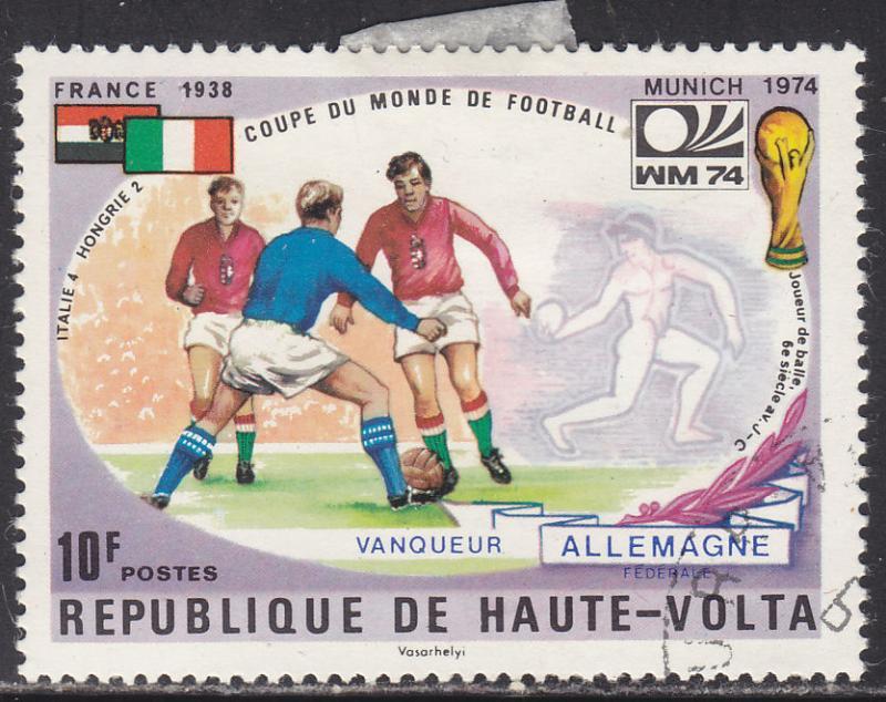 Burkina Faso 335 World Cup Soccer 1974