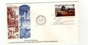 Canada 1972 $2 Quebec #601 Canada Post  FDC