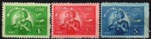Cuba #415-7 F-VF Unused CV $5.05 (X4083)