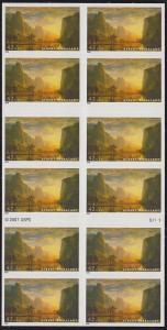 Scott 4346a Albert Bierstadt Booklet MNH