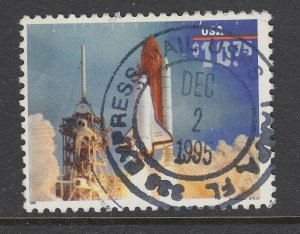 US Sc 2544A used. $10.75 Space Shuttle Endeavor Express Mail, SON cancel, F-VF.