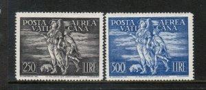 Vatican City #C16 - #C17 Very Fine Mint Lightly Hinged Set
