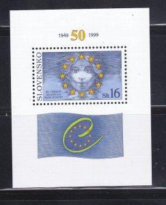 Slovakia 330a Set MNH Council Of Europe