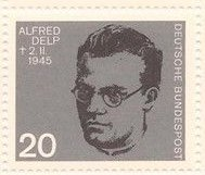 Germany 886 Nazi Resistance Portraits MNH 1964 Alfred Delp