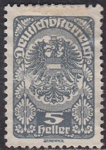 Austria 202 Coat of Arms 1920