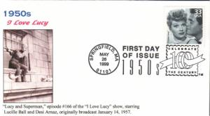 #3187l I Love Lucy Ginsburg FDC